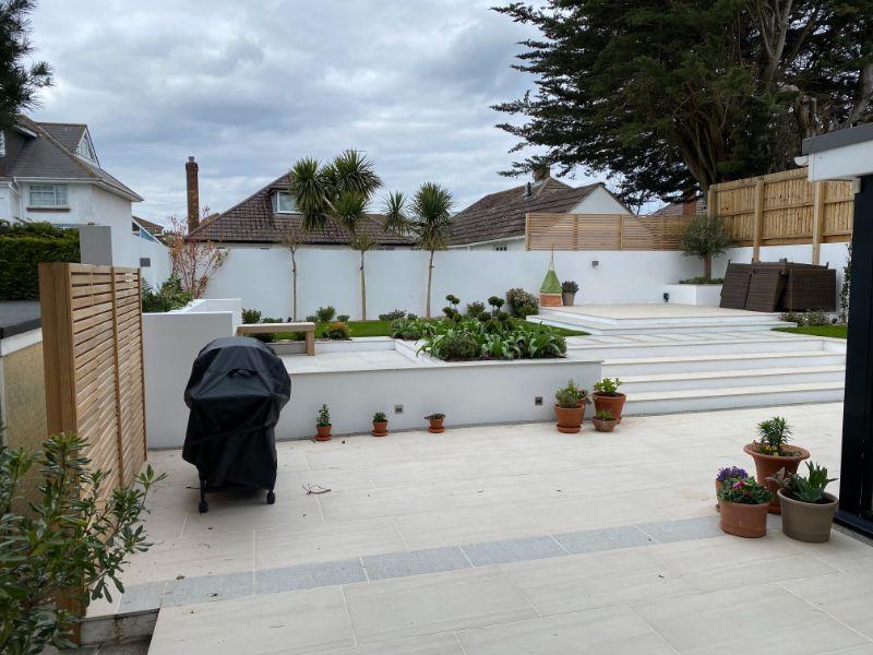 ladscape of garden